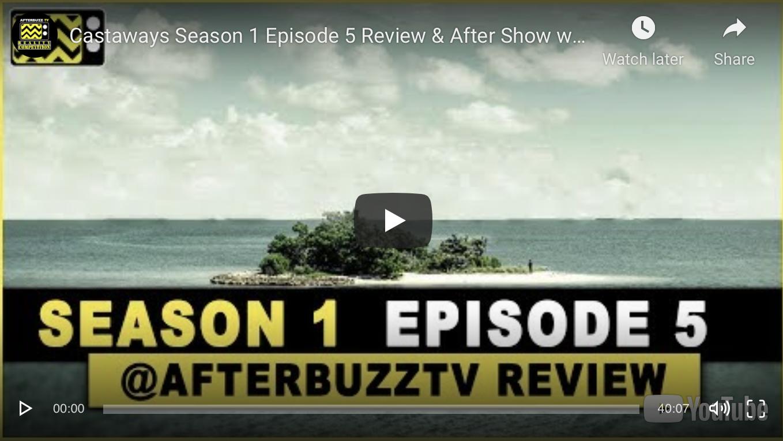 """AfterBuzz TV with Matt Jaskol Discussing TV Show """"Castaways"""""""